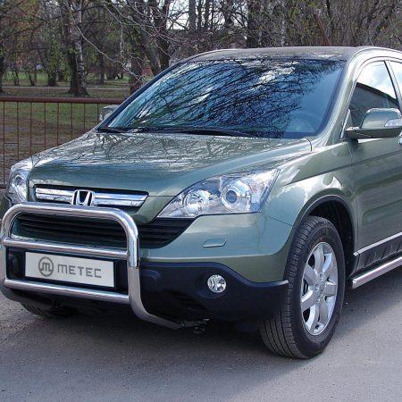 Honda CR-V (2007-) – Metec 4x4 Godkjent Frontbøyle-Lysbøyle m/tverrør