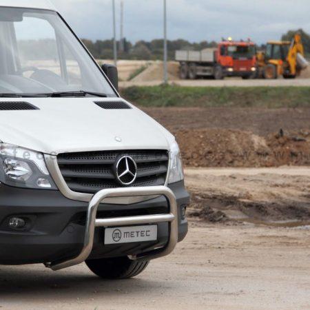 Mercedes-Benz Sprinter (2006-) – Metec 4x4 Godkjent Frontbøyle-Lysbøyle m/tverrør