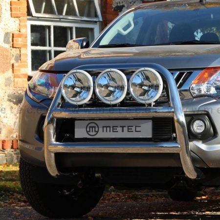 Fiat Fullback (20106) – Metec 4x4 Frontbøyle høy m/dobbelt tverrør