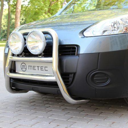 Peugeot Partner (2008-) – Metec 4x4 Frontbøyle-Lysbøyle m/tverrør