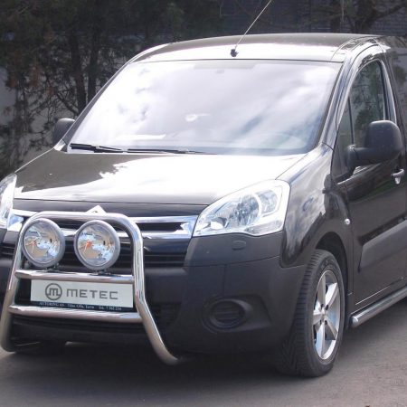 Citroën Berlingo (2008-) – Metec 4x4 Frontbøyle-Lysbøyle m/tverrør