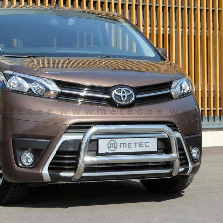 Toyota Proace (2016-) – Metec 4x4 Godkjent Frontbøyle-Lysbøyle m/tverrør