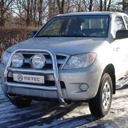 Toyota Hilux (2005-) – Metec 4x4 Frontbøyle-Lysbøyle m/tverrør