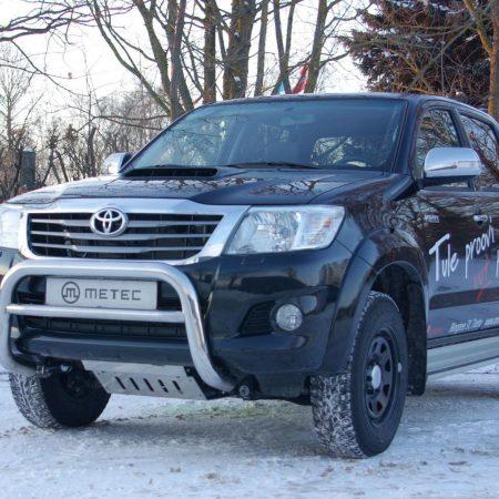 Toyota Hilux (2005-) – Metec 4x4 Godkjent Frontbøyle-Lysbøyle m/tverrør