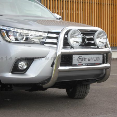 Toyota Hilux (2016-) – Metec 4x4 Frontbøyle-Lysbøyle m/tverrør