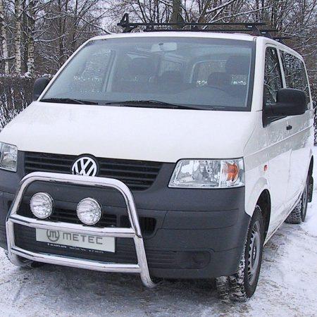 Volkswagen T5 (2003-) – Metec 4x4 Frontbøyle-Lysbøyle m/tverrør
