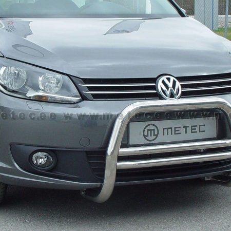 Volkswagen Caddy (2015-) – Metec 4x4 Godkjent Frontbøyle-Lysbøyle m/tverrør