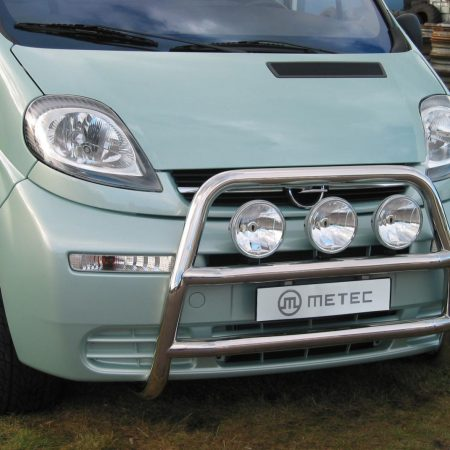 Nissan Primaster (2001-) – Metec 4x4 Frontbøyle-Lysbøyle m/tverrør