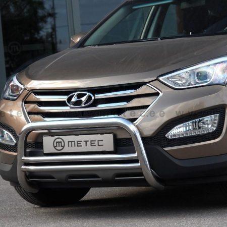 Hyundai SantaFe (2012-) – Metec 4x4 Godkjent Frontbøyle-Lysbøyle m/tverrør