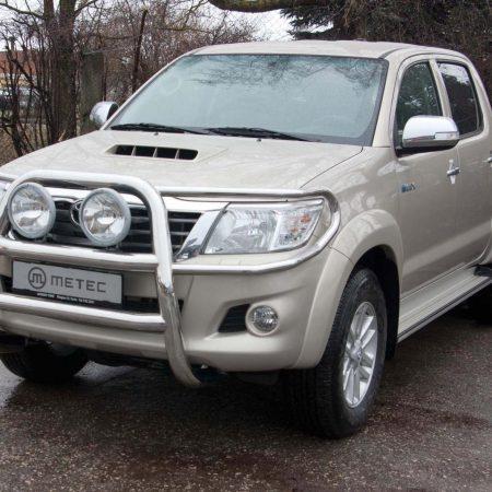 Toyota Hilux (2005-) – Metec 4x4 Frontbøyle-Lysbøyle m/tverrør og lys beskyttere