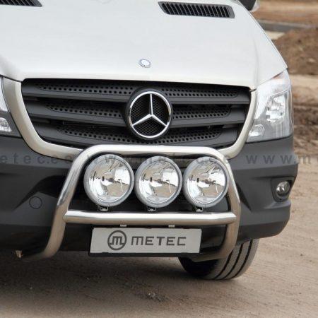 Mercedes-Benz Sprinter (2006-) – Metec 4x4 Frontbøyle-Lysbøyle m/tverrør