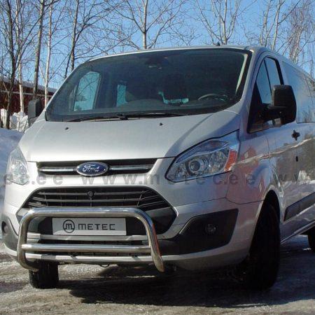 Ford Transit Custom (2013-) – Metec 4x4 Godkjent Frontbøyle-Lysbøyle m/tverrør