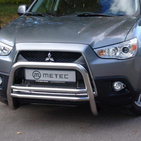 Mitsubishi ASX (2010-) – Metec 4x4 Godkjent Frontbøyle-Lysbøyle m/dobbelt tverrør