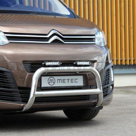 Citroën Jumpy (2016-) – Metec 4x4 Godkjent Frontbøyle-Lysbøyle m/tverrør