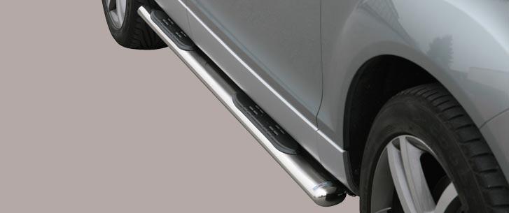 Audi Q7 (2006-) – Misutonida 4×4 Oval Kanalbeskytter m/trinn