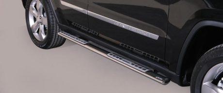 Jeep Grand Cherockee (2011-) – Misutonida 4×4 Kanalbeskytter oval m/trinn