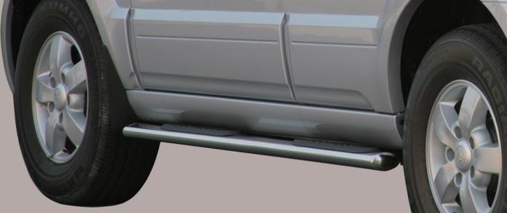 Kia Sorento (2006-) – Misutonida 4×4 Kanalbeskytter oval m/trinn