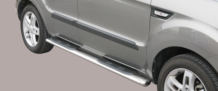 Kia Soul (2008-) – Misutonida 4×4 Kanalbeskytter oval m/trinn