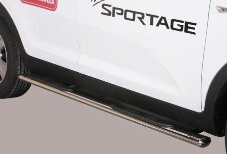 Kia Sportage (2010-) – Misutonida 4×4 Kanalbeskytter oval m/trinn