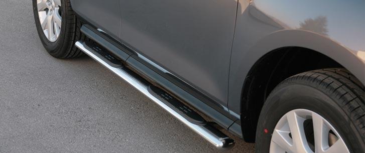 Mazda CX-7 (2008-) – Misutonida 4×4 Kanalbeskytter oval m/trinn