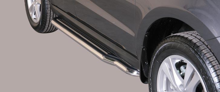 Hyundai Santa Fe (2006-) – Misutonida 4×4 Kanalbeskytter oval m/trinn