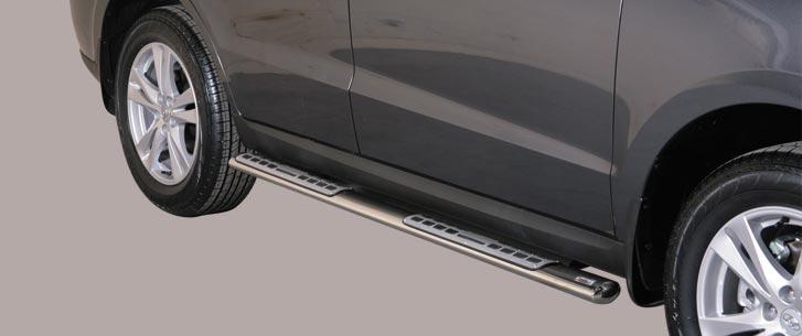 Hyundai Santa Fe (2010-) – Misutonida 4×4 Kanalbeskytter oval m/trinn