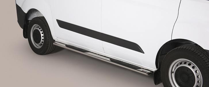 Ford Transit Custom (2013-) – Misutonida 4×4 Kanalbeskytter oval m/trinn