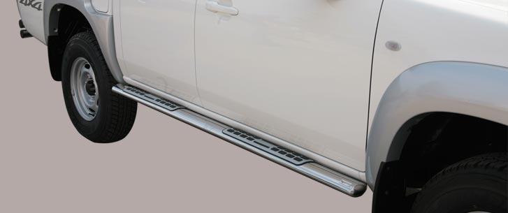 Mazda BT-50 (2009-) – Misutonida 4×4 Kanalbeskytter oval m/trinn
