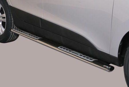 Hyundai IX35 (2010-) – Misutonida 4×4 Kanalbeskytter oval m/trinn