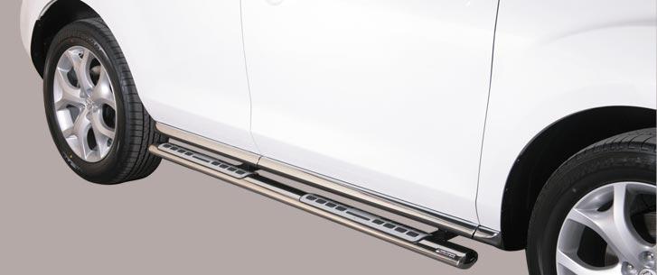 Mazda CX-7 (2010-) – Misutonida 4×4 Kanalbeskytter oval m/trinn