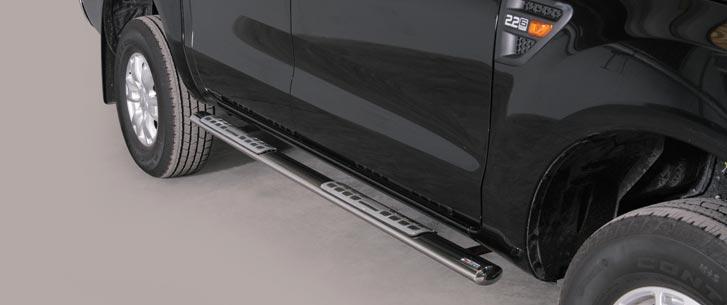 Ford Ranger (2012-) – Misutonida 4×4 Kanalbeskytter oval m/trinn
