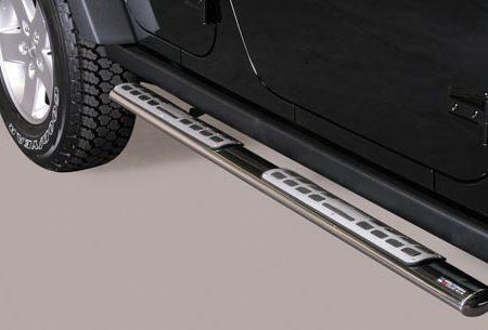 Jeep Wrangler (2011-) – Misutonida 4×4 Kanalbeskytter oval m/trinn