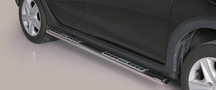 Dacia Sandero Stepway (2013-) – Misutonida 4×4 Kanalbeskytter oval m/trinn