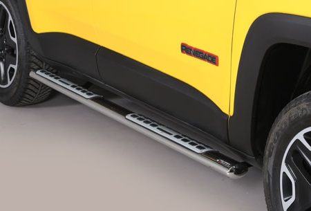 Jeep Renegade Trailhawk (2014-) – Misutonida 4×4 Kanalbeskytter oval m/trinn