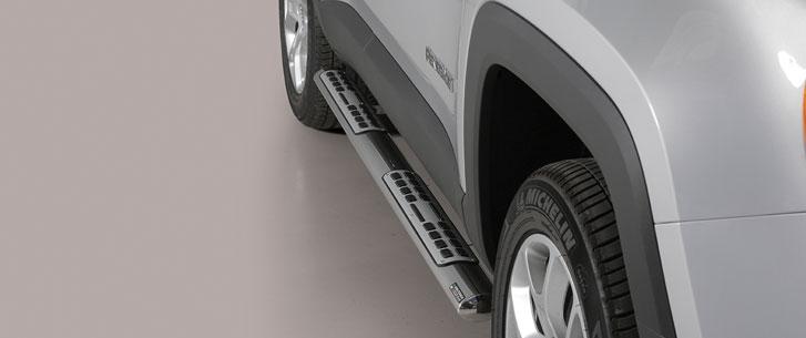 Jeep Renegade (2014-) – Misutonida 4×4 Kanalbeskytter oval m/trinn