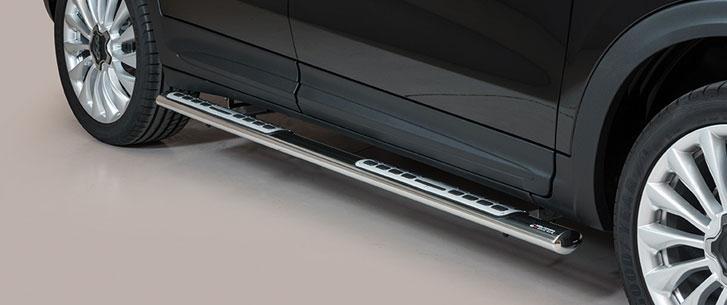 Fiat 500 X (2015-) – Misutonida 4×4 Kanalbeskytter oval m/trinn