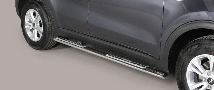 Kia Sportage (2016-) – Misutonida 4×4 Kanalbeskytter oval m/trinn