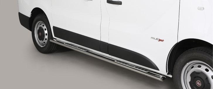 Fiat Talento (2016-) – Misutonida 4×4 Kanalbeskytter oval m/trinn