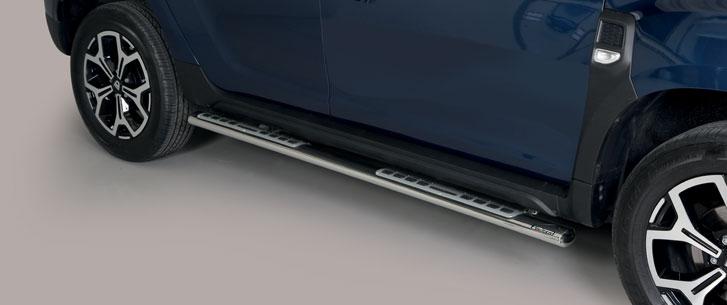 Dacia Duster (2018-) – Misutonida 4×4 Kanalbeskytter oval m/trinn