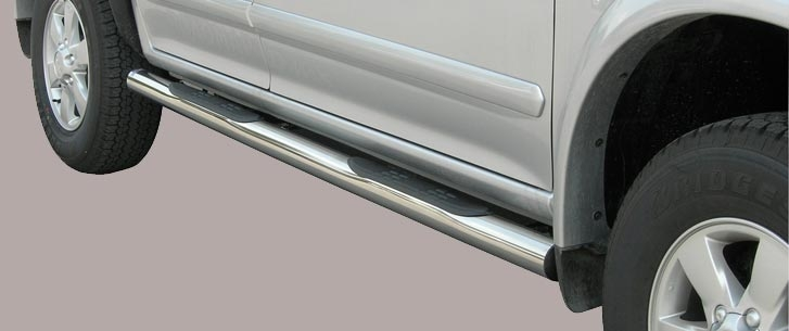 Isuzu D-Max (2006-) – Misutonida 4×4 Kanalbeskytter m/trinn