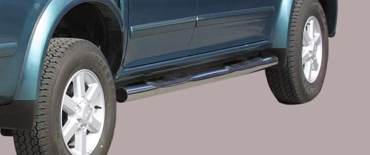 Isuzu D-Max (2004-) – Misutonida 4×4 Kanalbeskytter m/trinn