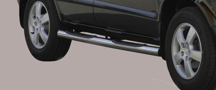 Hyundai Tucson (2004-) – Misutonida 4×4 Kanalbeskytter m/trinn