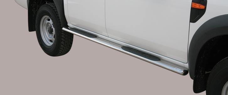 Ford Ranger (2009-) – Misutonida 4×4 Kanalbeskytter oval m/trinn