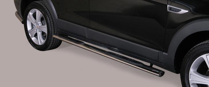 Chevrolet Captiva (2011-) – Misutonida 4×4 Kanalbeskytter oval m/trinn