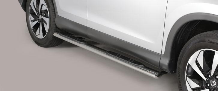 Honda CR-V (2016-) – Misutonida 4×4 Kanalbeskytter oval m/trinn