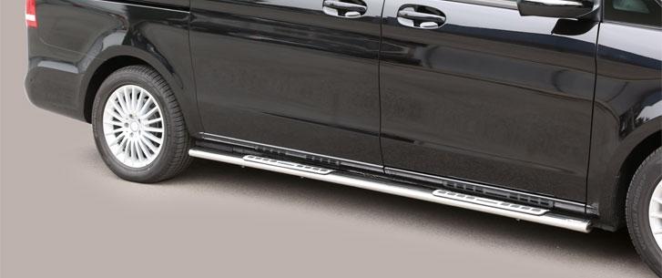 Mercedes Benz V-Klasse (2014-) – Misutonida 4×4 Kanalbeskytter oval m/trinn